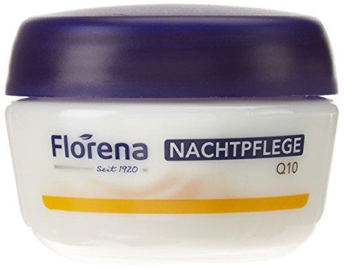 Florena Glättende Anti-Falten Nachtpflege mit Q10, 50 ml