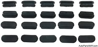Carlson H1456 Brake Backing Plate Dust Cover (Plugs)