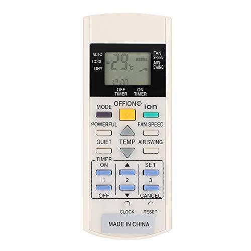 cigemay Control Remoto de Aire Acondicionado, Accesorio de Repuesto de Control Remoto, Adecuado para Panasonic A75C3299 A75C2600 A75C2602 A75C2606 A75C2632 A75C2656