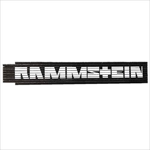 Rammstein 2 meter duimstok