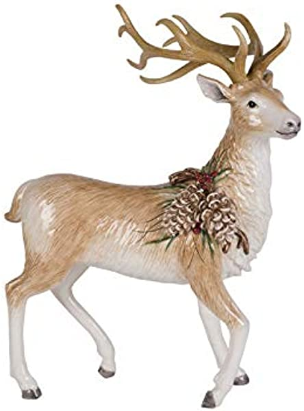 Fitz And Floyd Collectible Figurine Forest Frost