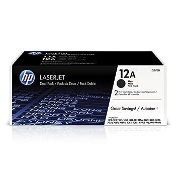 HP 12A | Q2612D | 2 Toner-Cartridges | Black
