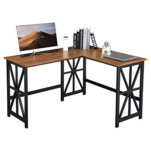 GreenForest L Shaped Corner Desk