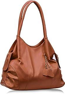 Fristo Women's Handbag(FRB-186) Tan