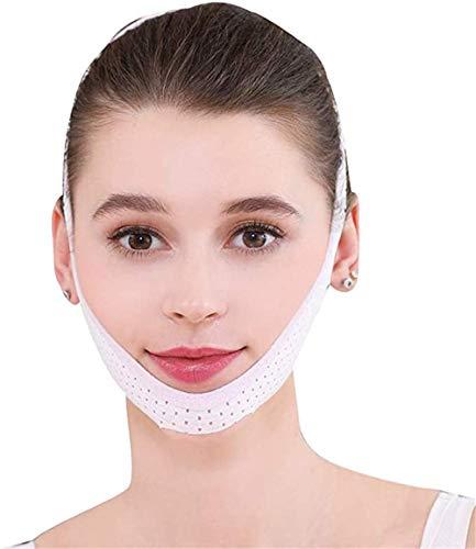 HJTLK Facial Lifting Slim Belt Facial Instrument Face Mask Bandage, V Face Lift Facial Beauty Firming Facial Massager Double Face Lifting Belt