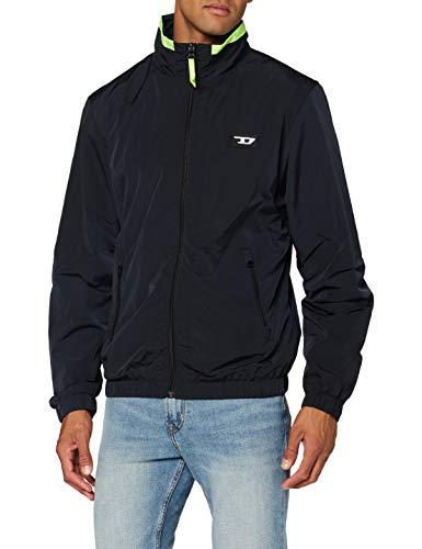 Diesel Men's UMLT-ROULAY-WZ Jacket, Black, X-Large
