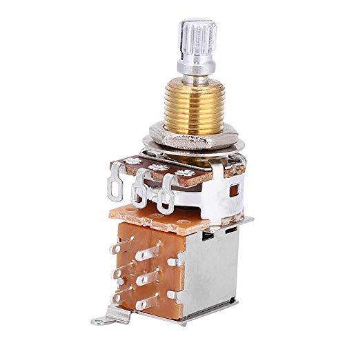 Fockety Switch Pot, Interruptor de botón práctico y Duradero, Amantes de la Guitarra para Transformar la fabricación de Guitarras eléctricas para Amantes de la Guitarra, Fabricantes de Instrumentos