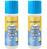 Gluetacular Jigsaw Puzzle Glue with Applicator (2 Pack) - 120ml x 2 Bottles - Covers 1000-3000 Pieces Paper/Wood Puzzle