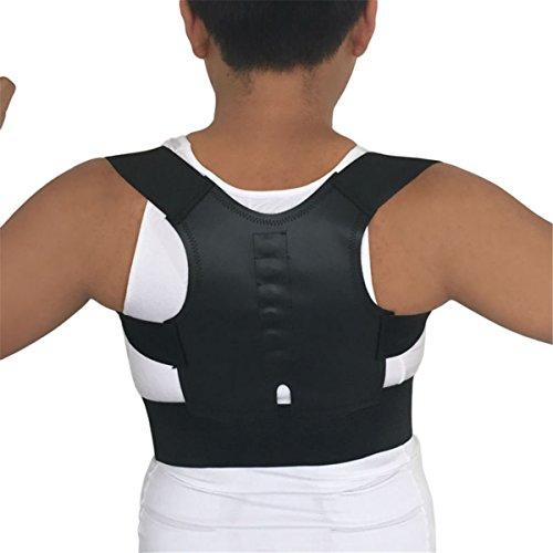 ECYC® Magnetic Posture Corrector Men Back Support Belt Correct Posture Brace