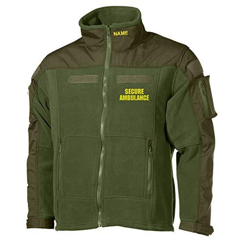 Copytec Combat Fleecejacke Secure Ambulance Sanitäter Notarzt Doktor #36083, Größe:XL, Farbe:Oliv