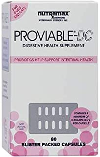 proviable dc for cats and dogs 80 capsules