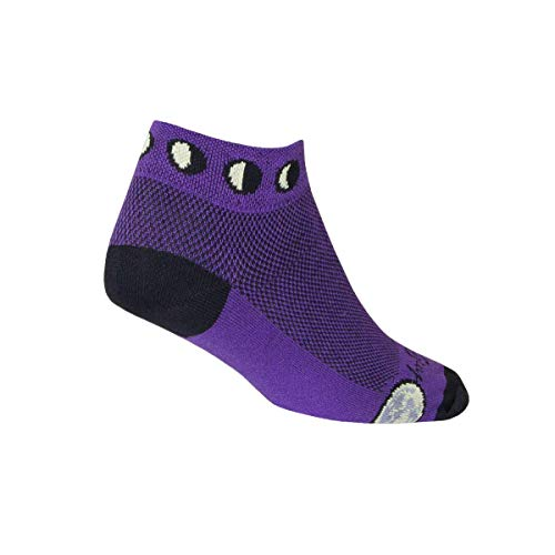 SockGuy Phases Chaussettes Femme, Multicolore, S/M