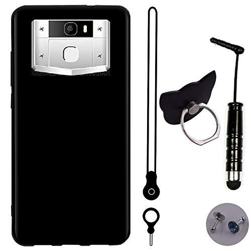 TienJueShi Leder Schutz Hülle Handy Tasche Für Oukitel k10000 Pro 5.5 inch TPU Silikon Hülle Abdeckung Cover Etüi Skin
