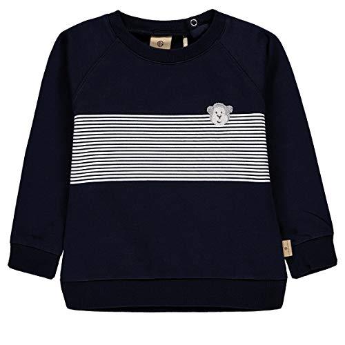 Bellybutton mother nature & me Sweatshirt 1/1 Arm Felpa, Blu (Navy Blazer|Blue 3105), 116 Bambino