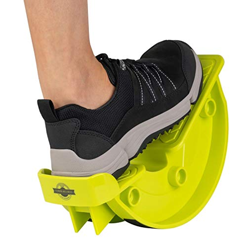 FLORIPA WELLNESS Foot Rocker Designed by a Medical Doctor – Stretcher for Calves, Heels, Feet; Relieves Pain from Plantar Fasciitis, Achilles Tendonitis, and More – with Exercise Instructions;