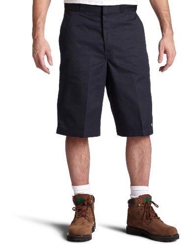 Dickies Men's 13 Inch Loose Fit Multi-Pocket Work Short, Dark Navy 48
