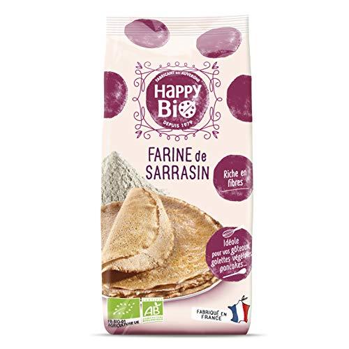 Happy Bio Farine de Sarrasin Bio 500 g