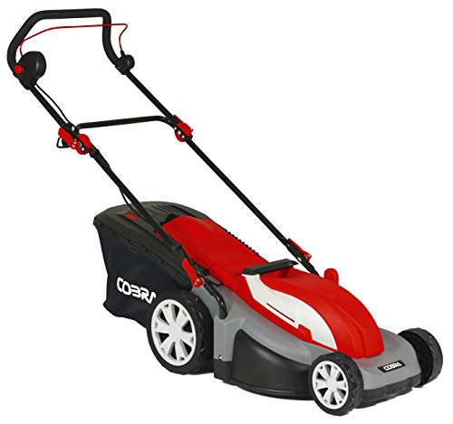 Cobra GTRM43 43cm (17in) Electric Lawnmower with Roller - powerful 1800w motor