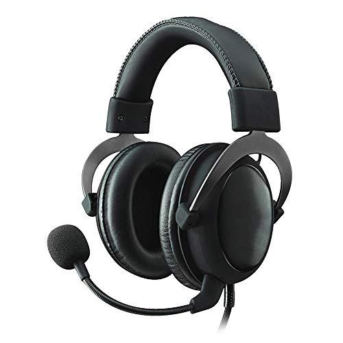 QJGhy Casque Audio Casque de Jeu Casque de Jeu Casque Intra-auriculaire 7.1 Son Surround Cadre de Protection en Mousse à mémoire de Forme en Aluminium Durable pour PC, PS4, PS4, Xbox One Casque Gamer