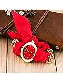 MARRY Damenuhr Armbänder Für Frauen Mode Niedliches Armband Weibliche Uhr Stoff Wickel Armbanduhr Geschenk Für Männer Uhr, Rd