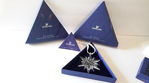Price comparison product image Swarovski 2011 Annual Edition Crystal Snowflake Ornament