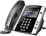 Polycom VVX600 Telefono Desktop VoIP, Nero
