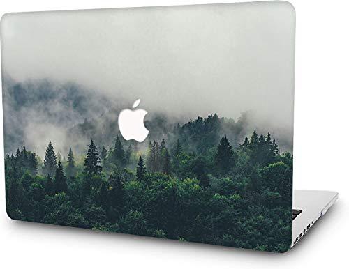 RQTX Custodia Rigida per Laptop per MacBook PRO 13'Retina (-2015) Jungle Hard Shell Cover custodie A1502 / A1425 Forest