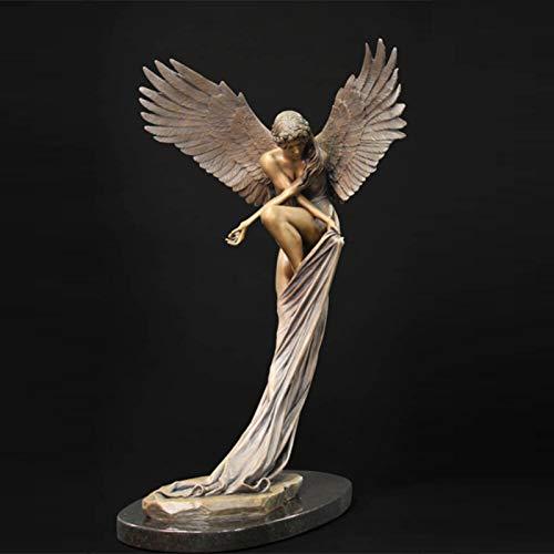 Redemption Angel Creative Sculpture Garden Decoration Outdoor Home Angel Figurines