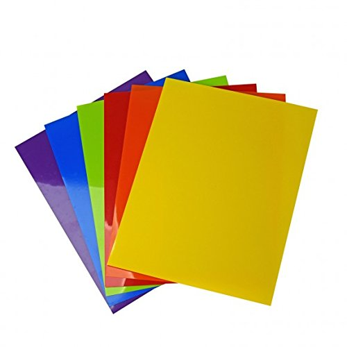 Vaessen Creative Plástico Mágico, Set Multicolor, Surtido 6x2 Hojas, Tamaño A5, Divertidos...