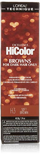 L'Oreal Excellence HiColor Soft Brown by L'Oreal Paris