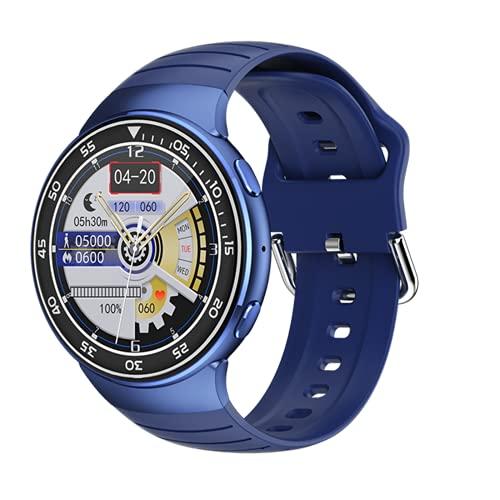 Nueva actualización YD1 Smart Watch Men's IP67 IP67 Eleva a Prueba de Agua Earpónica inalámbrica Bluetooth Smart Watch,B