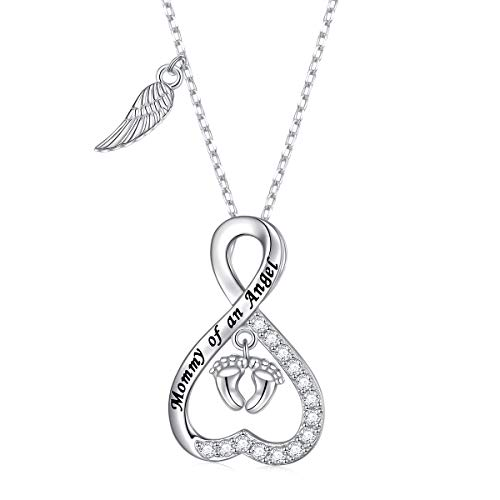 Sterling Silver Loss Necklace