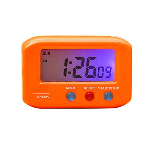 LKU Wekker Digitale Backlight LED Display Tafel Alarm Klok Snooze Kalender LED Veranderende Digitale Alarm Klok Bureau
