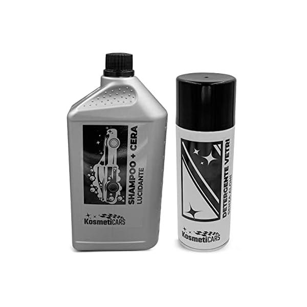 KosmetiCARS - Kit Montecarlo - Set professionale per la Pulizia e la Cura dell'Auto Moto Camper 3 spesavip