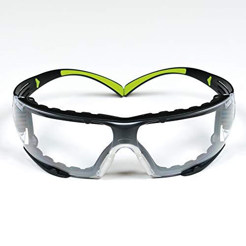 3M Safety Glasses, SecureFit, ANSI Z87, Dust...