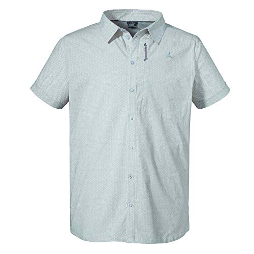 Schöffel Val Thorens1 T-Shirt Homme Whisper White FR: S (Taille Fabricant: 46)