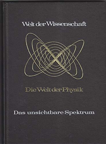 Welt der Wissenschaft Das unsichtbare Spektrum Grundlagen der elektromagnetischen Strahlung