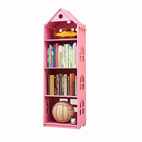 DD-Estantería de artículos diversos, Niños LibreroVistoso Estante for Libros Almacenamiento de Madera...