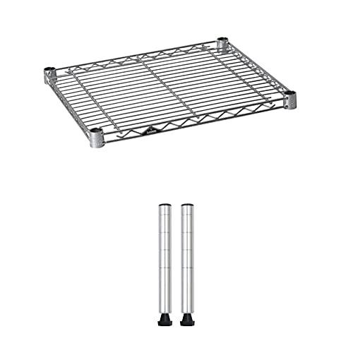 ルミナスライト(ポール径19mm/棚板耐荷重150kg)セット買い 幅44.5×奥行39.5cm 高さ17cm 1段