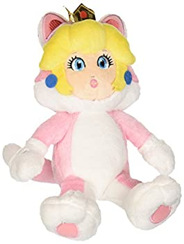 Little Buddy Super Mario Neko Cat Peach Plush 10