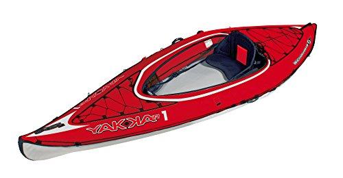 BIC Yakkair HP 1 - Kayak Hinchable, Color Rojo, 3.30 m