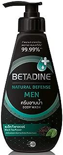 Betadine Natural Defense Body Wash (450ml, Black Tea Power(For Men))