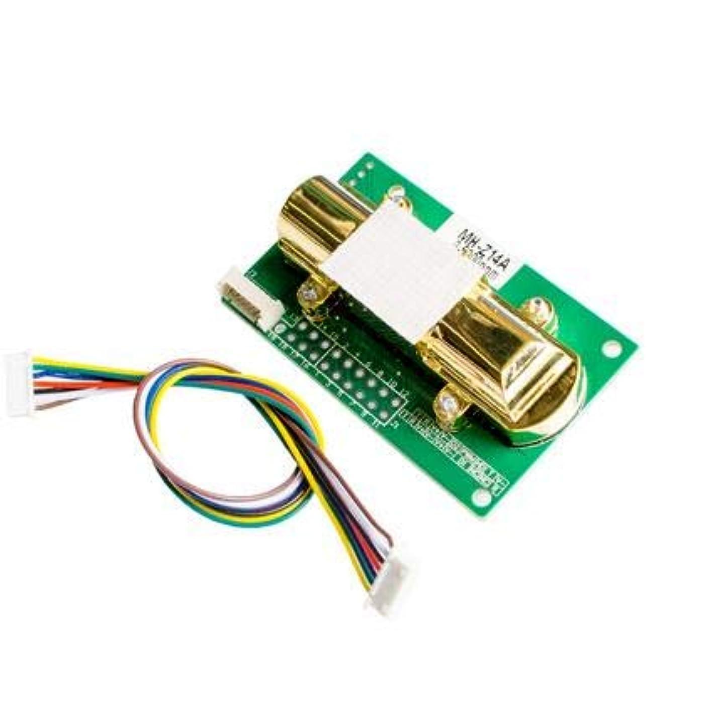帝国主義わざわざ失業WillBest MH-Z14A Infrared carbon dioxide sensor module output environment monitoring