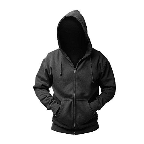 CosDaddy® DJ Sweater Hoodie Kapuzenpullover Cosplay Kostüm Asien Size (XXL),Schwarz