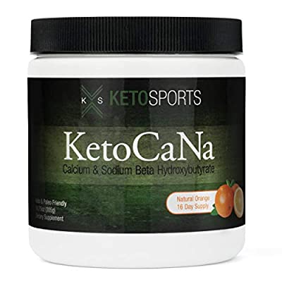 KetoSports Keto Supplement with Exogenous Ketones - Keto BHB Fueling Physical, Mental Performance, and Keto Diet Support - Premium Keto Powder - KetoCaNa Ketones Supplement from SETAF