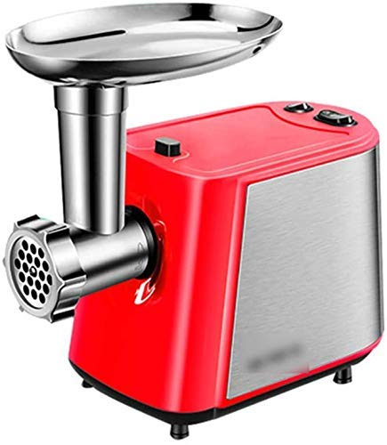 Mighty Bite Elektrische Meat Grinder, Metal Eten Grinder Attachment, for Kitchen Stand Mixers, Duurzaam Meat Grinder Attachment, 400W Pure Copper Motor LOLDF1