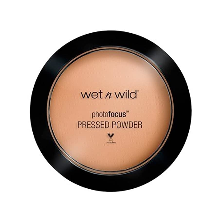 長椅子キャンドル嫉妬(3 Pack) WET N WILD Photo Focus Pressed Powder - Golden Tan (並行輸入品)
