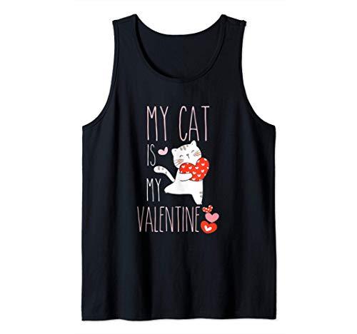 Drôle de Cadeau Pour le Chat My Cat Is My Valentine Débardeur