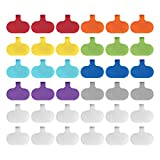 Cable Labels by Wrap-It Storage, Regular,...
