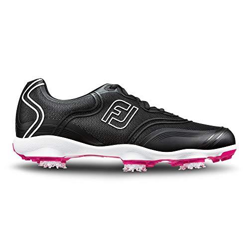 Footjoy Damen FJ Aspire Golfschuhe, Schwarz (Black 98897), 38 EU